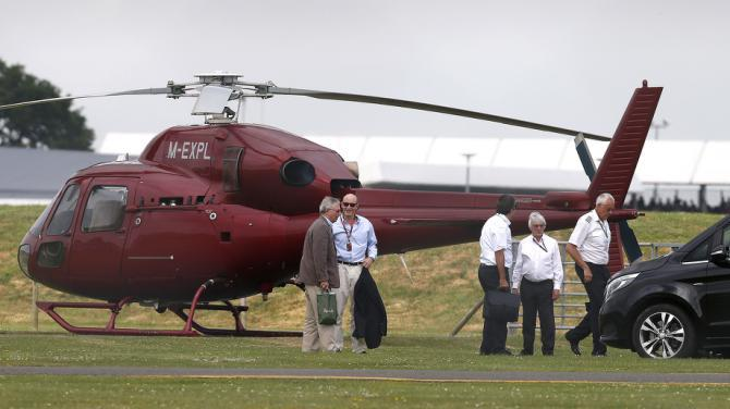 El utilitario aéreo de Bernie Ecclestone