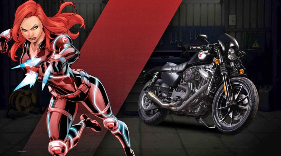 La Viuda Negra - Harley-Davidson Iron 883