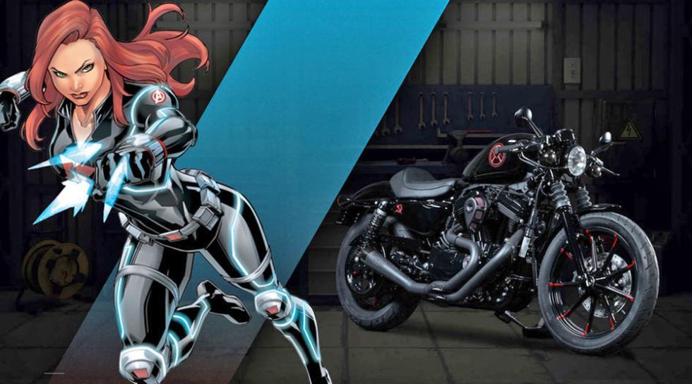 Viuda Negra - Harley-Davidson Iron 883