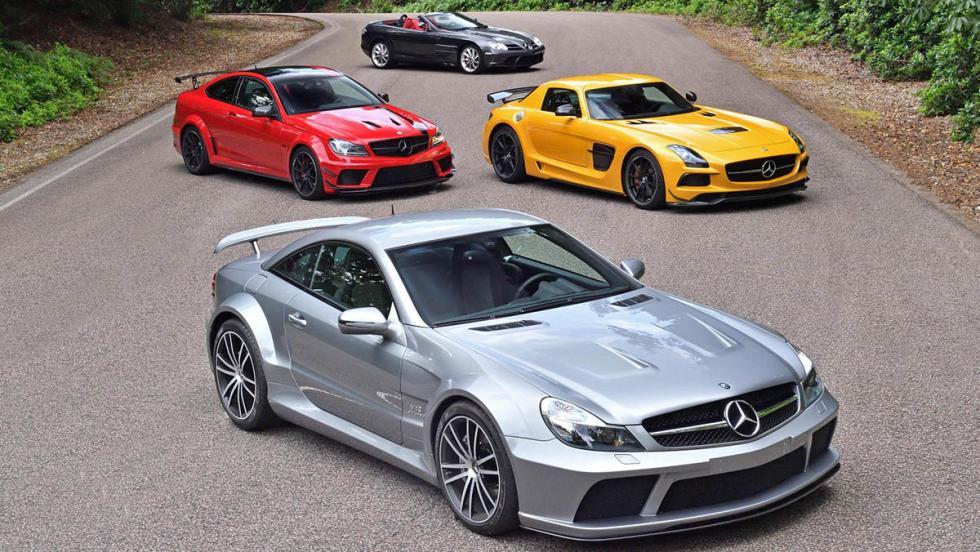 Al volante de los Mercedes-AMG más salvajes