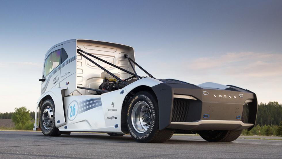 Volvo The Iron Knight, el camión más rápido del mundo