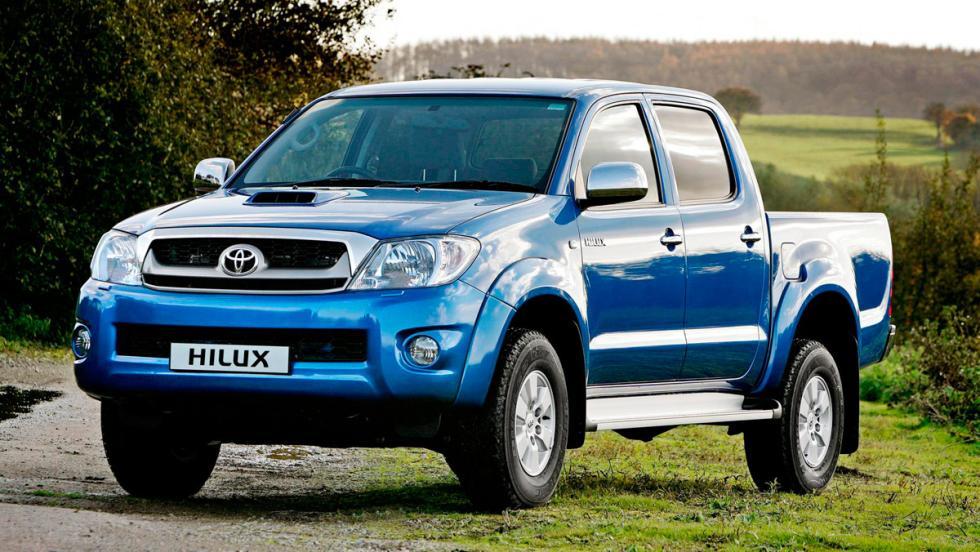 10. Toyota Hilux