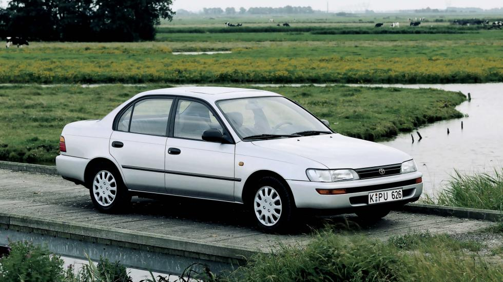 1991 - Séptima Generación Toyota Corolla