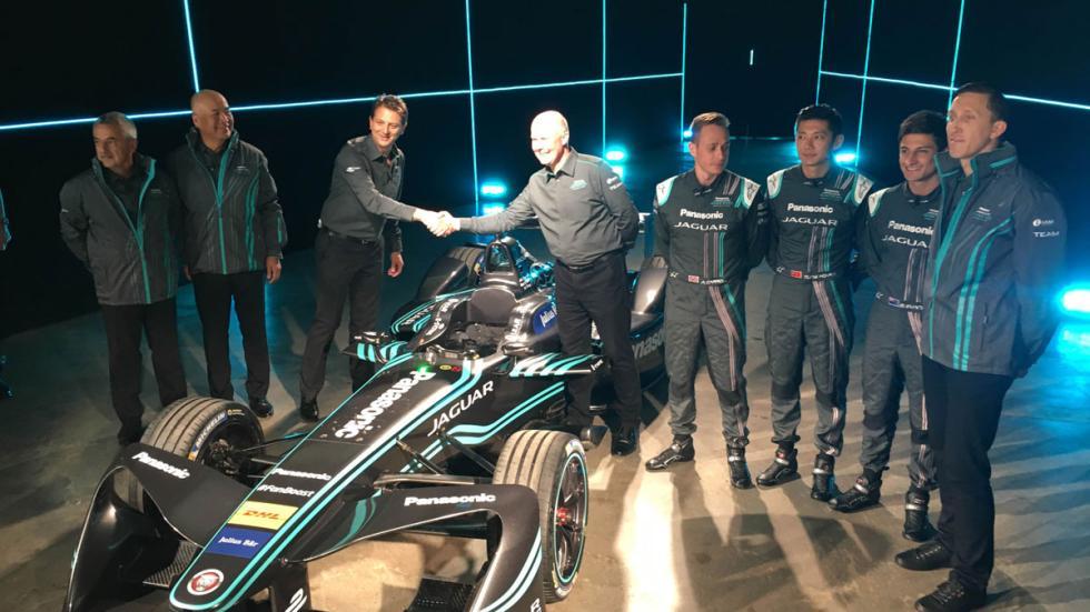 Jaguar Formula E presentación