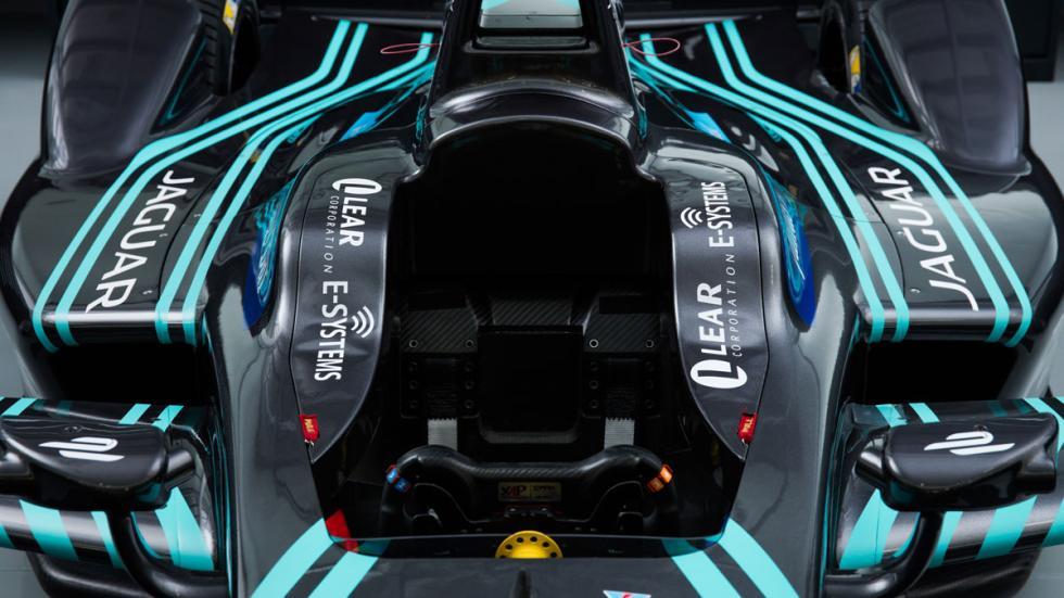 Jaguar Formula E cockpit
