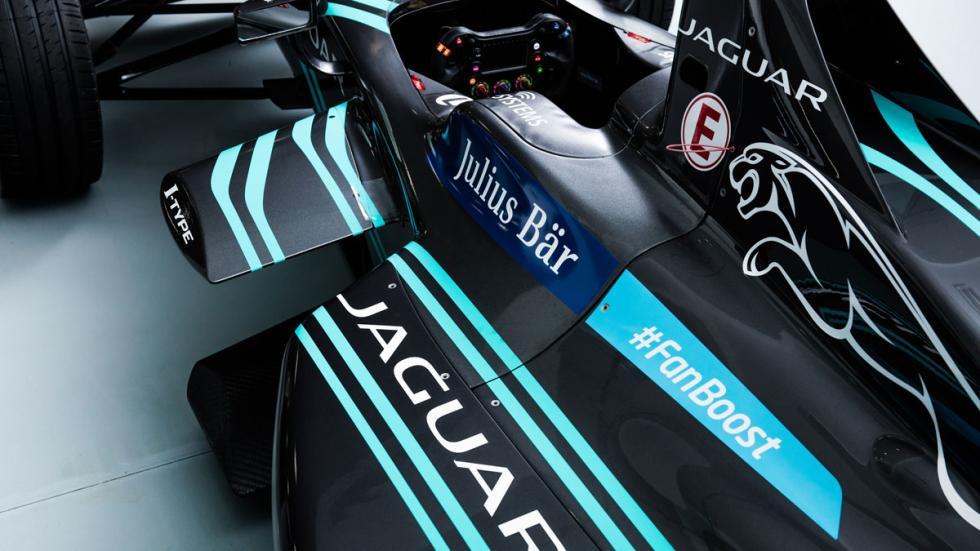 Jaguar Formula E patrocinadores
