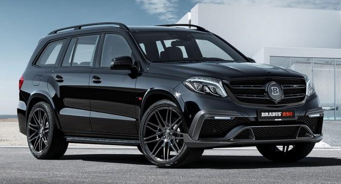 Brabus 850 XL, 838 CV para el Mercedes GLS