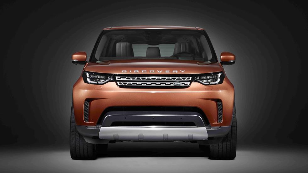 Así es el nuevo Land Rover Discovery 2017