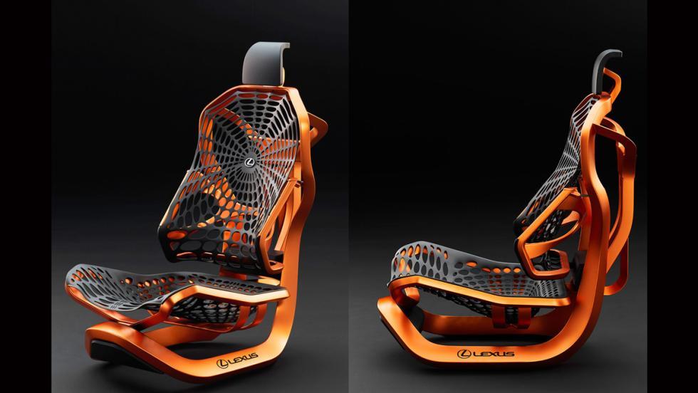 Asiento Lexus Kinetic Concept portada