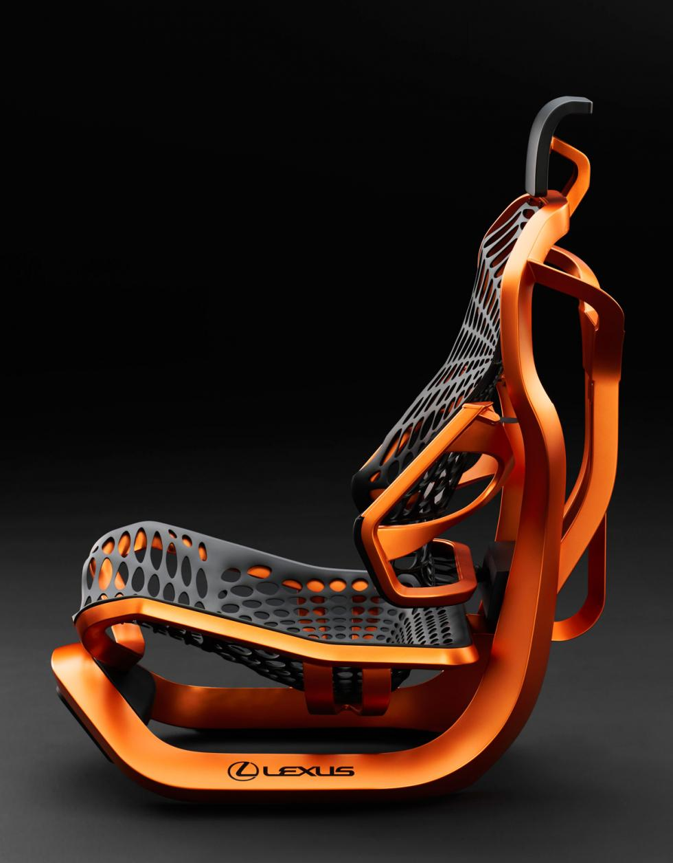 Asiento Lexus Kinetic Concept lateral