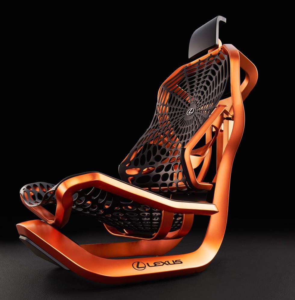 Asiento Lexus Kinetic Concept