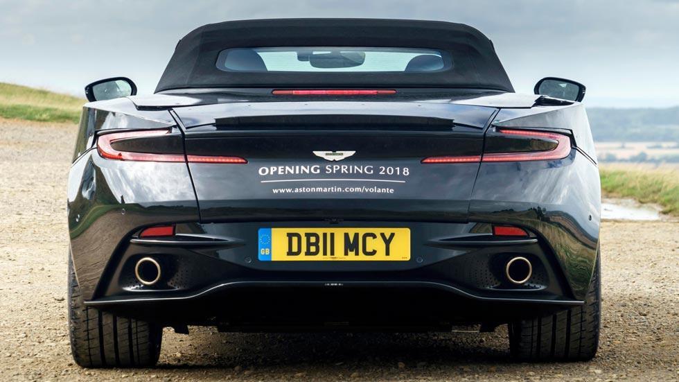 Aston Martin DB11 Volante descapotable deportivo lujo