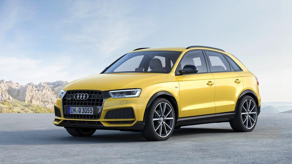 Audi Q3 2016 SUV compacto lujo amarillo deportivo