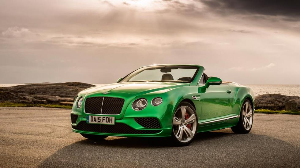 Bentley Continental GTC Speed lujo deportivo descapotable rápido exclusivo verde