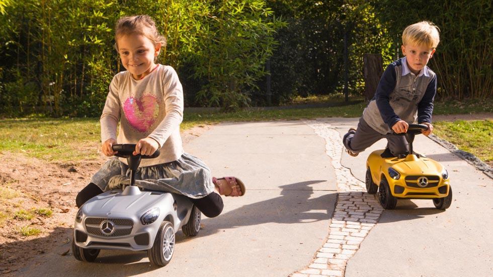 Bobby-AMG GT coche infantil de Mercedes juguete vehículos niños coches