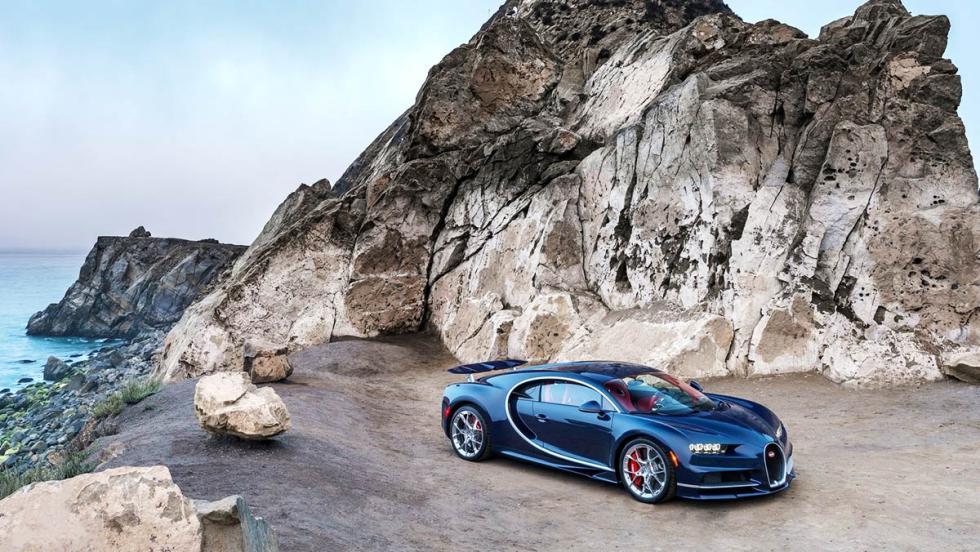 El Bugatti Chiron quiere romper el récord de velocidad... a 460 km/h