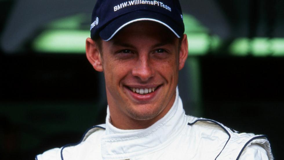 Button estaba más feliz que una perdiz al fichar por Williams