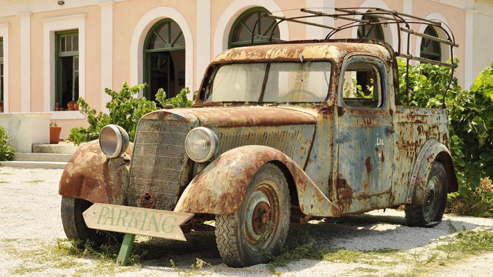 """""""El coche está bien, para los años que tiene"""""""