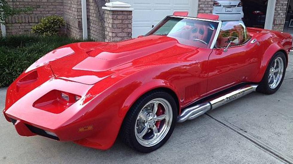 Los coches de Sylvester Stallone: Chevrolet Corvette del 68