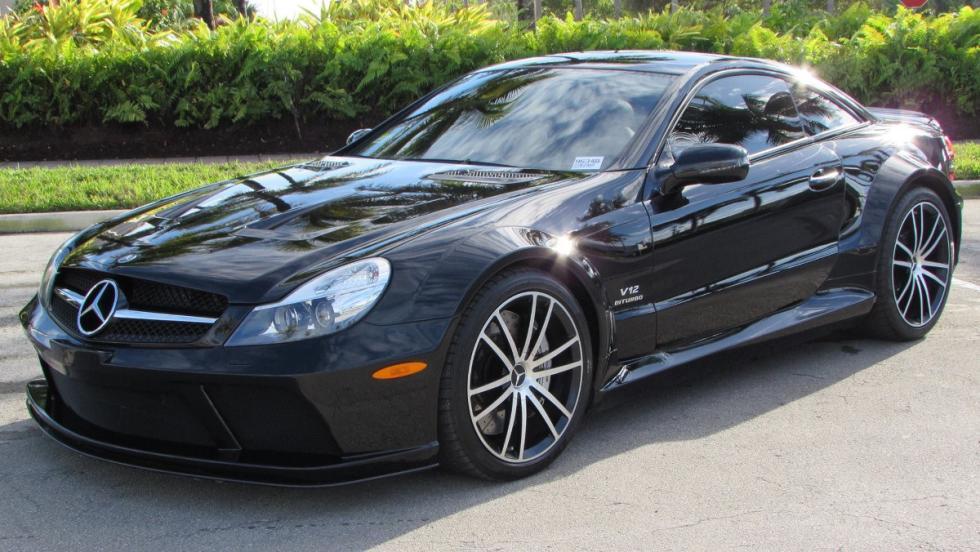 Los coches de Sylvester Stallone: Mercedes SL65 AMG Black Series