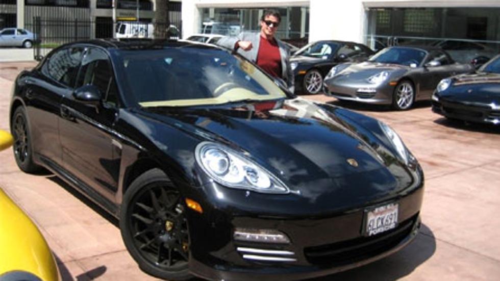 Los coches de Sylvester Stallone: Porsche Panamera