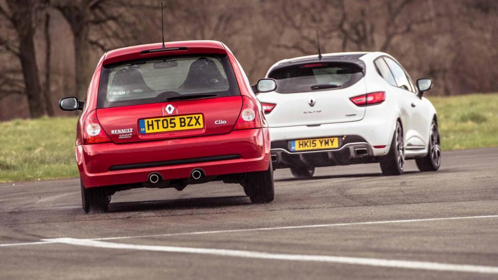 Comparativa Renault Clio Sport 182 220 compactos deportivos RS circuito