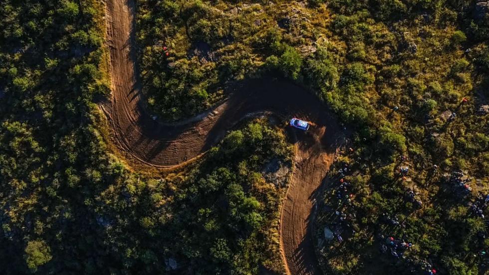 Los drones del WRC