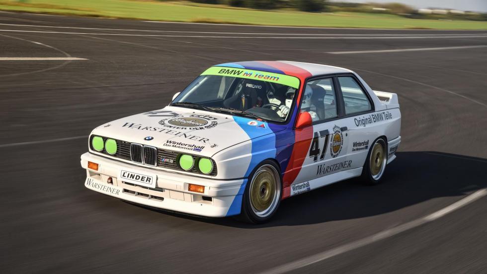 E30 BMW M3 racer