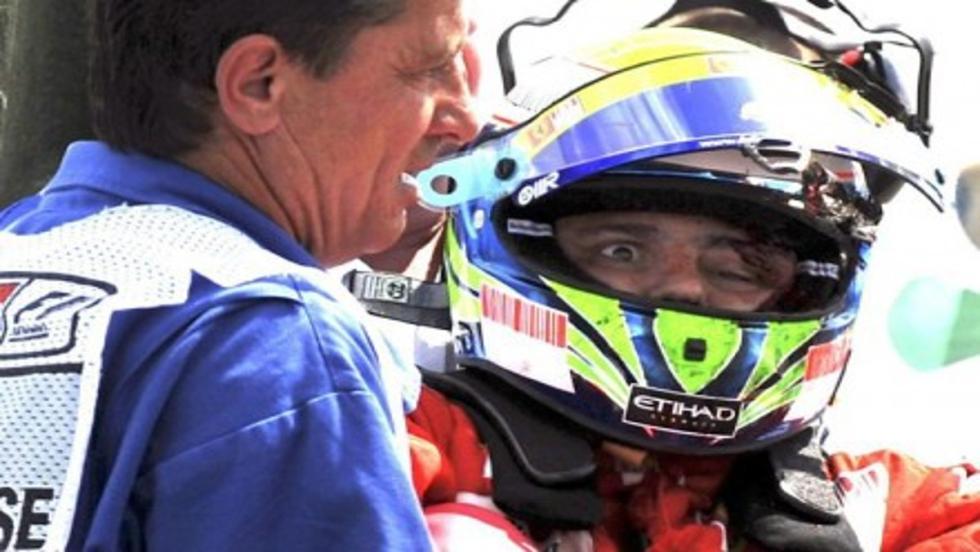 Felipe Massa sufrió un accidente en Hungría 2009 que casi le cuesta la vida y su carrera deportiva