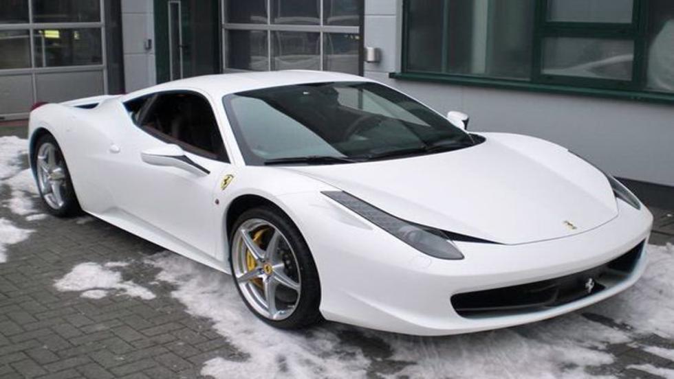 El Ferrari 458 Italia: uno de los grandes coches de calle de Fernando Alonso