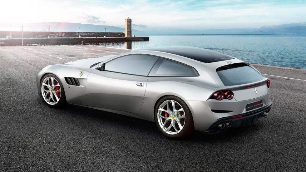 Ferrari GTC4Lusso T deportivo V8 cuatro plazas sobrealimentado turbo