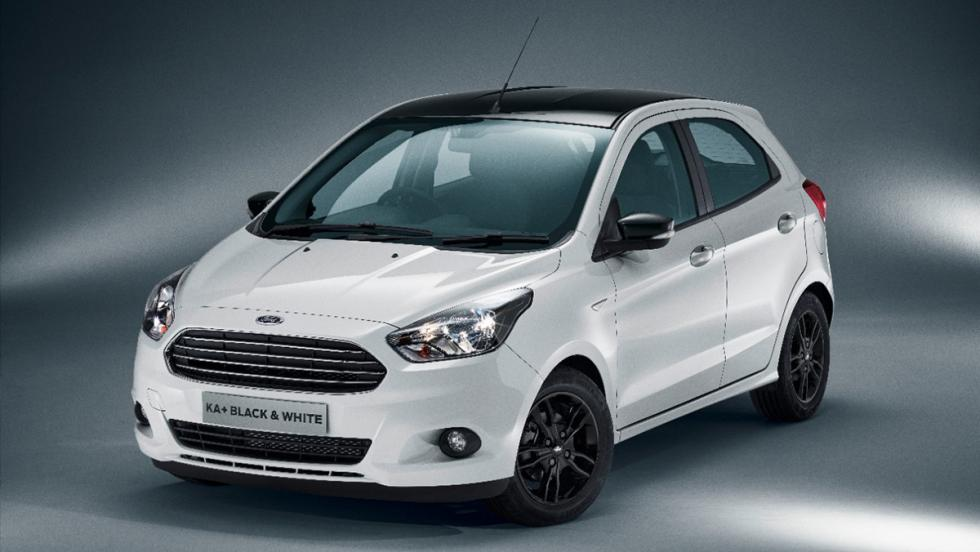 Ford KA+ Black and White