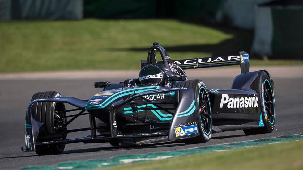 Jaguar Racing Formula E presentación I-Type coche monoplaza elétrico