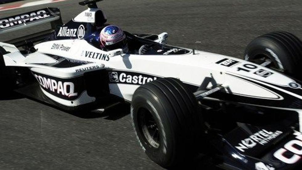 Jenson Button debutó en la F1 con Williams en 2000