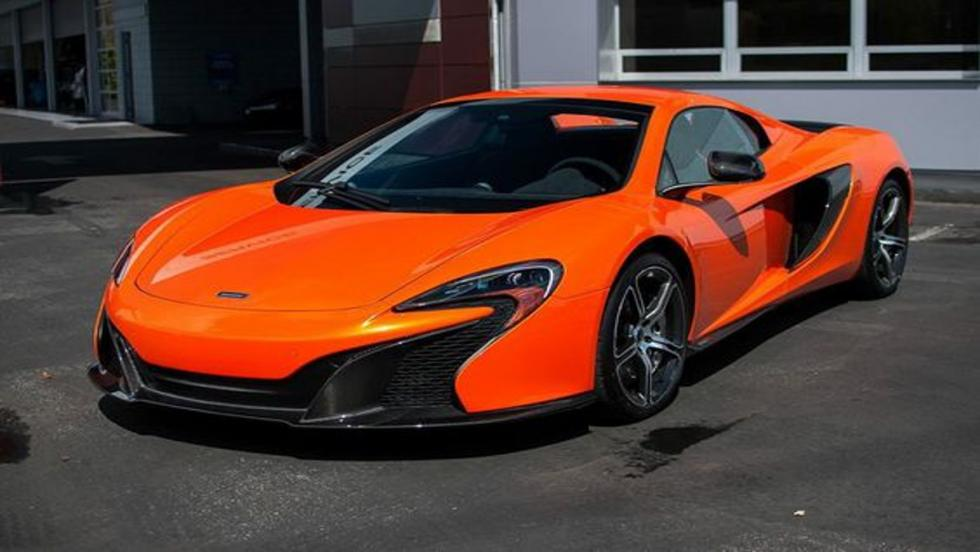El McLaren 650S: uno de los actuales coches de calle de Fernando Alonso