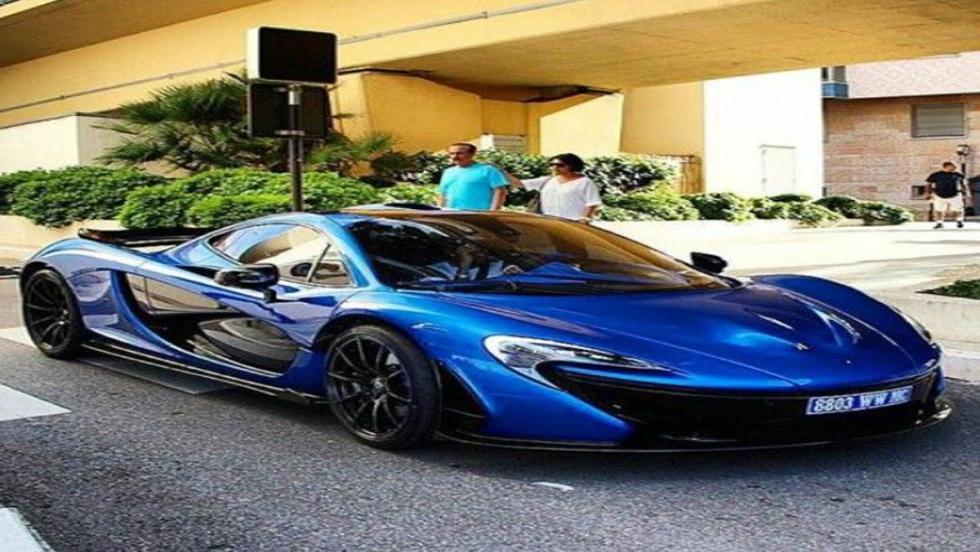 El McLaren P1 de Hamilton
