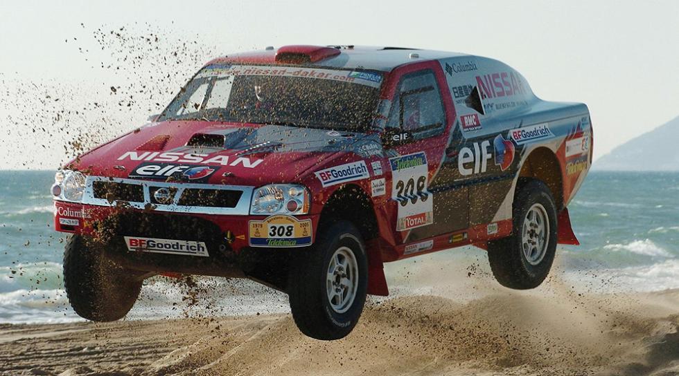 Los mejores coches de Colin McRae - Con Nissan al Dakar