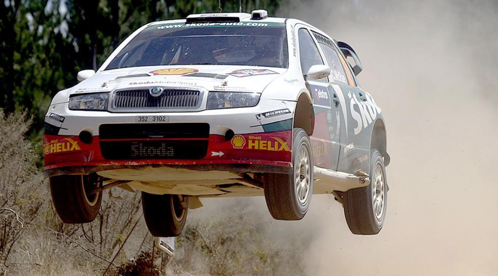 Los mejores coches de Colin McRae - Skoda Fabia WRC