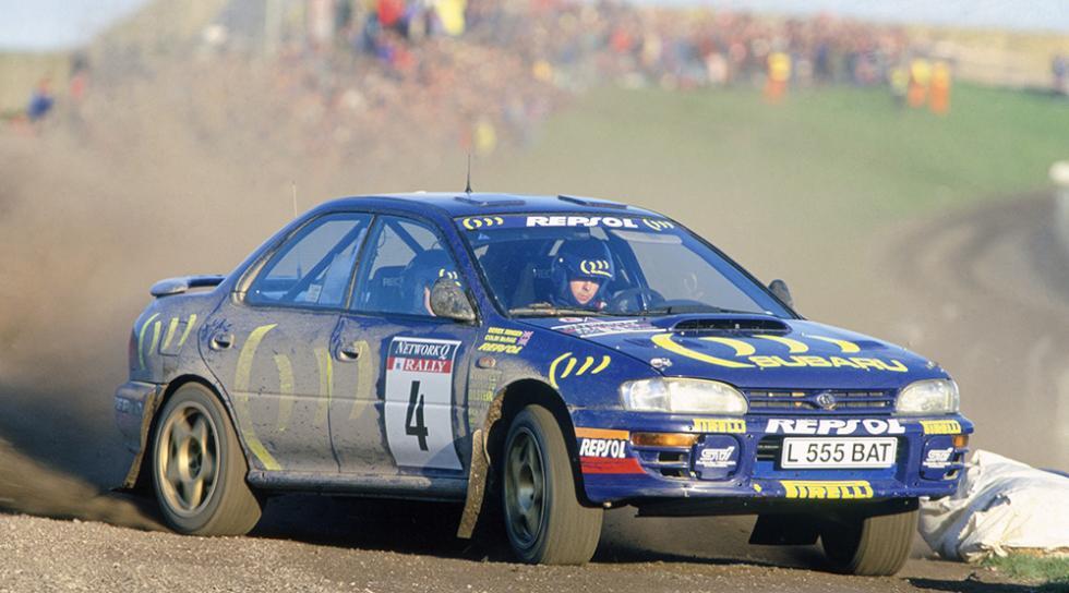 Los mejores coches de Colin McRae - Subaru Impreza