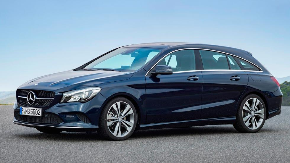 Mercedes CLA Shooting Brake familiar lujo estilo