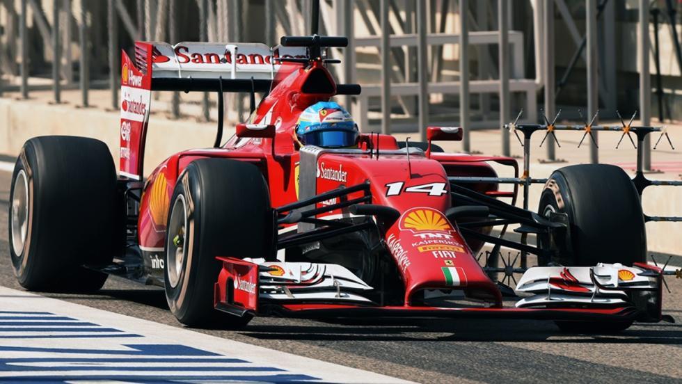 Los monoplazas de Fernando Alonso en la F1: Ferrari F14T