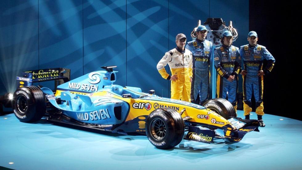 Los monoplazas de Fernando Alonso en la F1: Renault R25. Campeón del Mundo