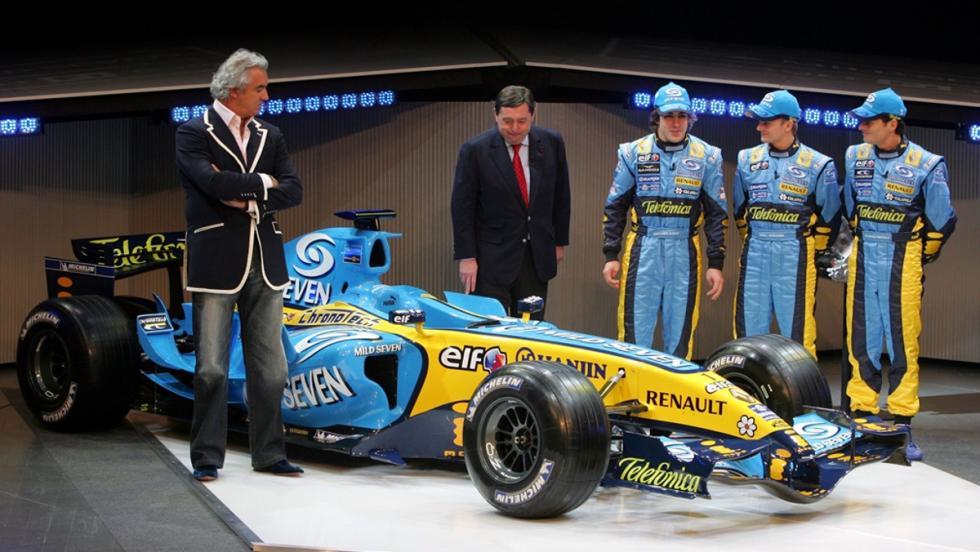 Los monoplazas de Fernando Alonso en la F1: Renault R26. Segundo Campeonato del Mundo