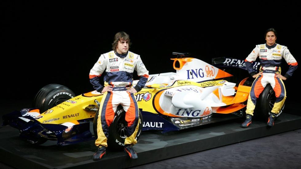 Los monoplazas de Fernando Alonso en la F1: Renault R28