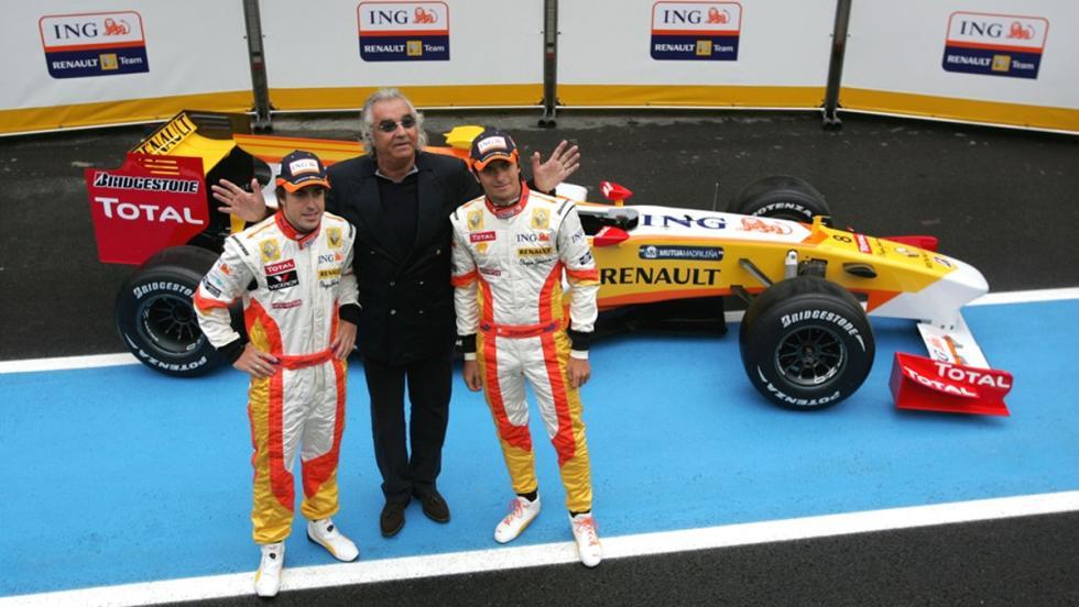 Los monoplazas de Fernando Alonso en la F1: Renault R29