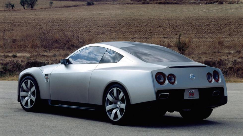 Nissan Skyline GT-R concept trasera prototipo deportivo japones