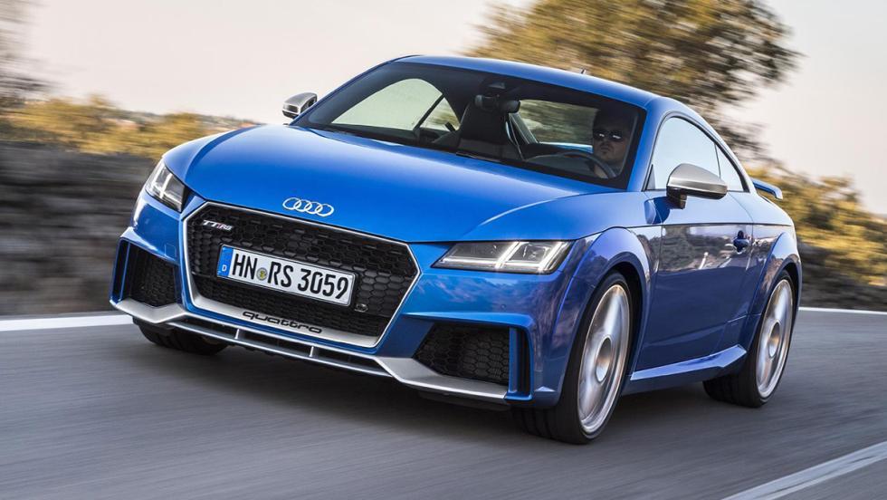 Nuevo Audi TTRS Coupé
