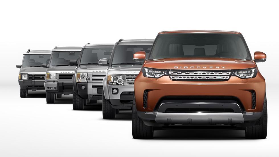 El nuevo Land Rover Discovery 2017, en familia