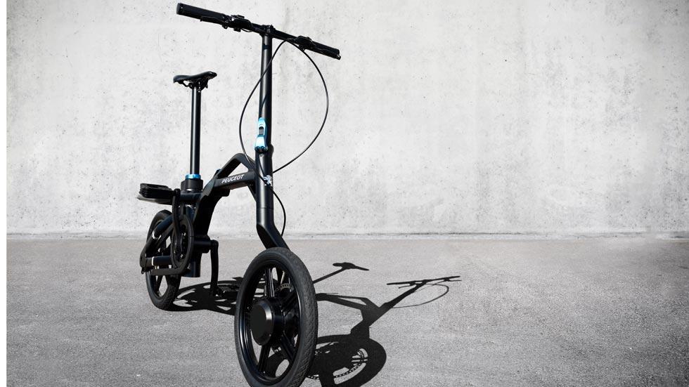 Peugeot eF01 bicicleta eléctrica plegable ciudad movilidad urbana