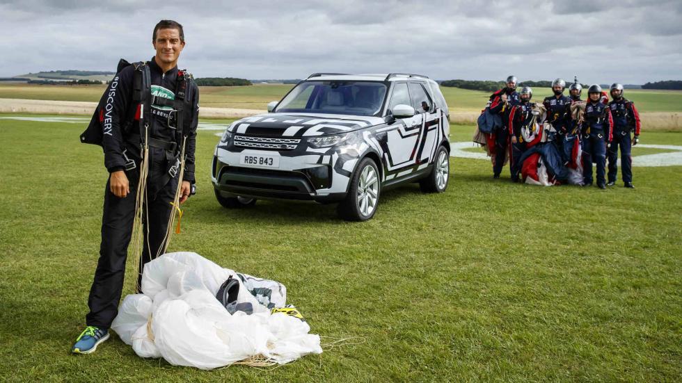 Plegado de asientos Land Rover